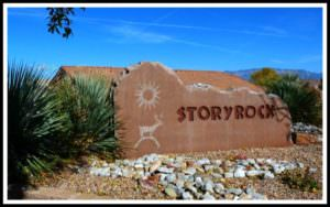 Entrance to Story Rock Homes For Sale