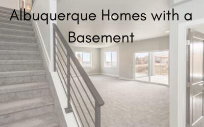 Albuquerque Homes with a Basement