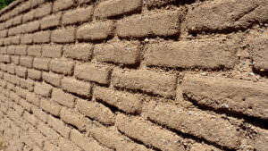 New Mexico Homes and Lifestyles-Adobe Wall