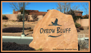 Oxbow Homes For Sale_Oxbow Bluffs Sign