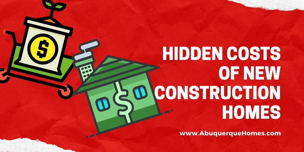 Hidden Costs of New Construction Homes