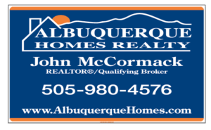 Albuquerque Homes Realty-Yard Sign