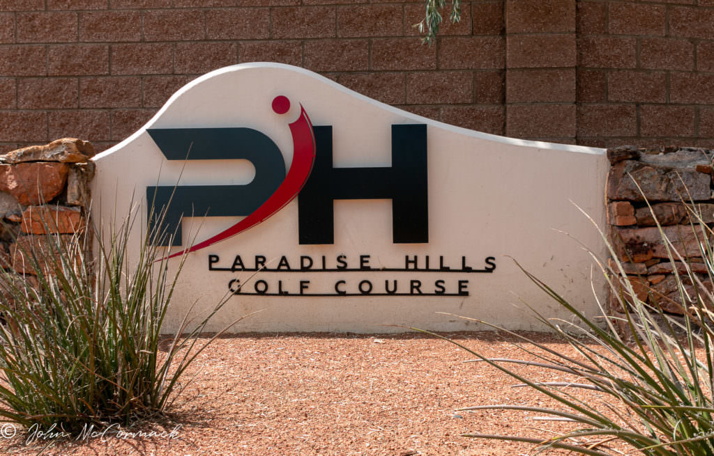 Paradise Hills Homes For Sale_Entrance to PH Golf Course