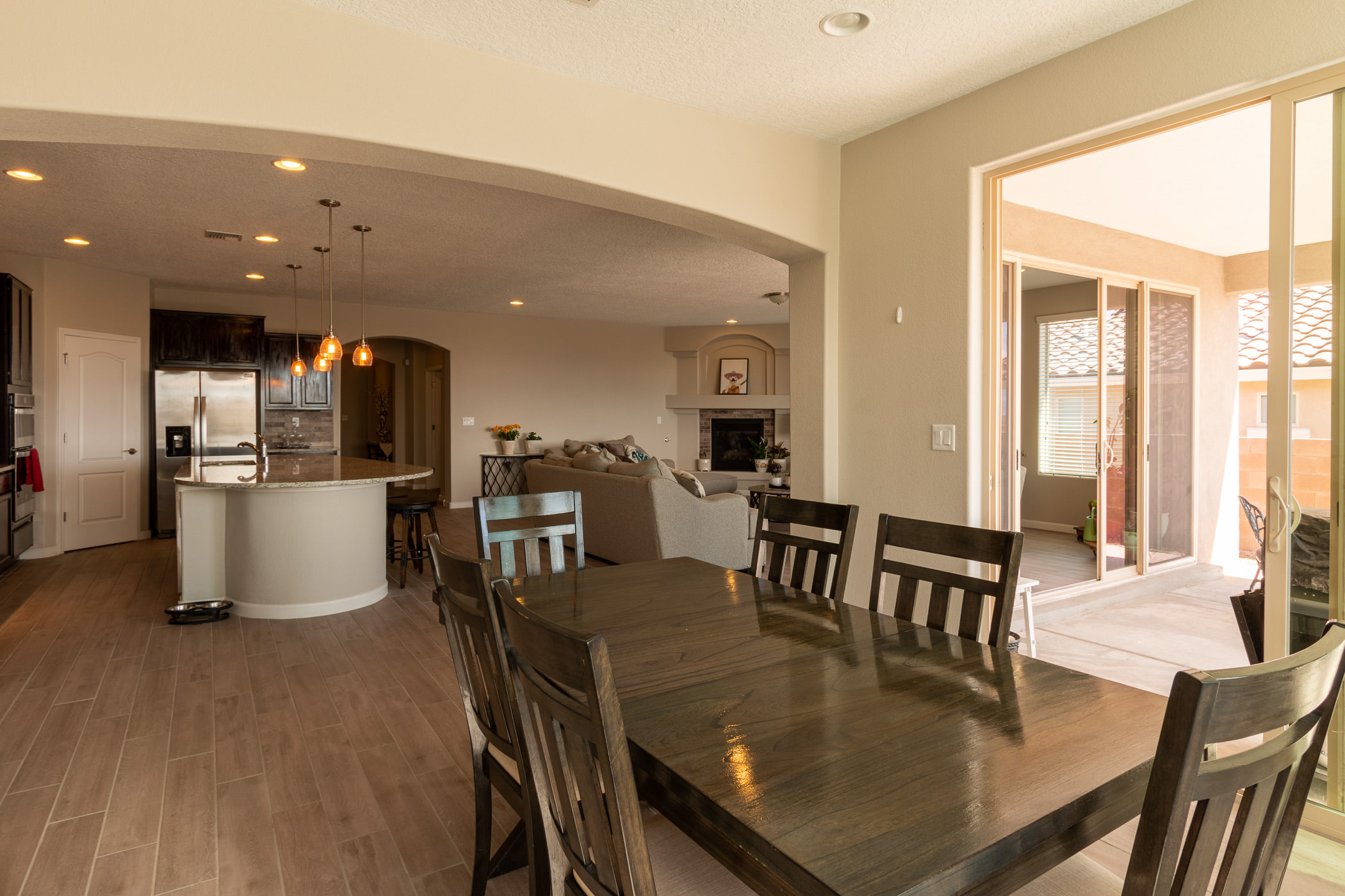 1728 Cooke Canyon Dr NW Cafe Dining Area